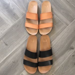 Set of Two REEF Sandals